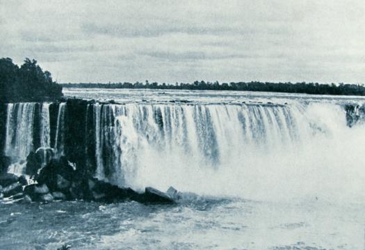 landschap waterval