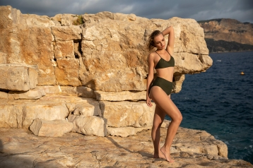 bikini hoge slip Niagara